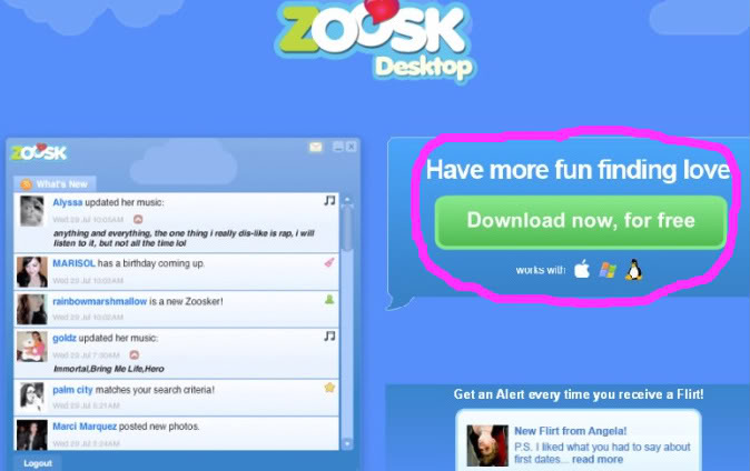 Messages disappear zoosk Why do